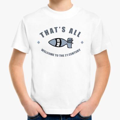 Детская футболка Bomb