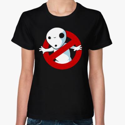 Женская футболка Дух Кодама Принцесса Мононоке