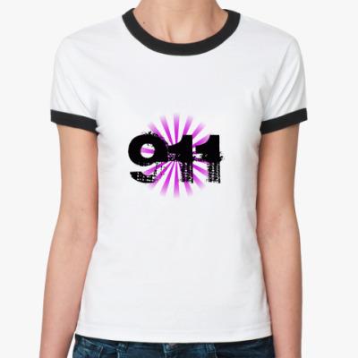 Женская футболка Ringer-T   911