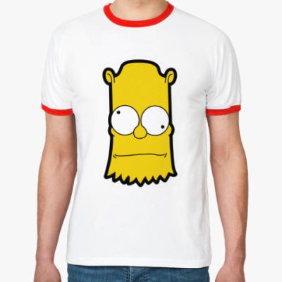 Футболка Ringer-T Crazy Bart