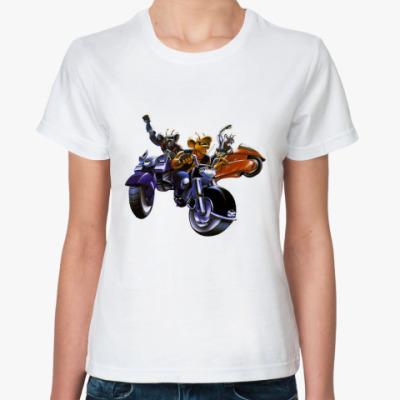 Классическая футболка MARS(Ж)