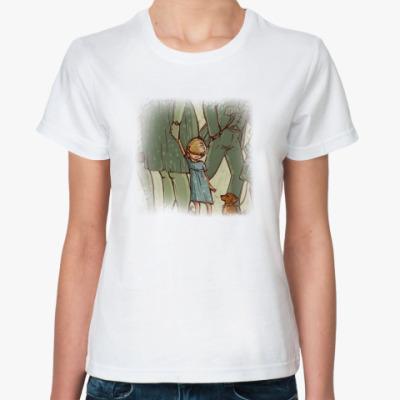 Классическая футболка встреча двух сердец