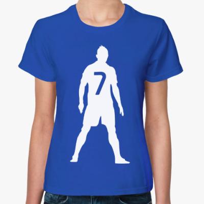 Женская футболка Ronaldo 7