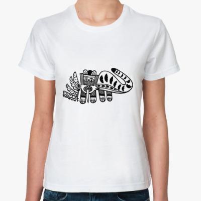 Классическая футболка  'Может быть и тигр'
