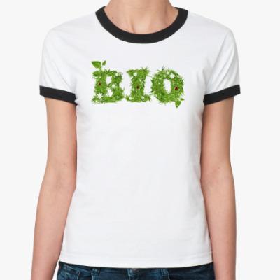 Женская футболка Ringer-T Запах травы