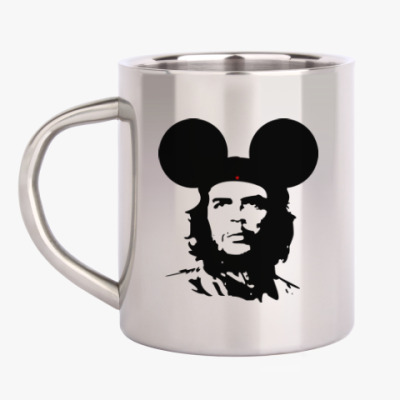 Кружка металлическая  Mickey Mouse Che Guevara