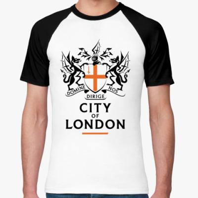 Футболка реглан  'City of London'