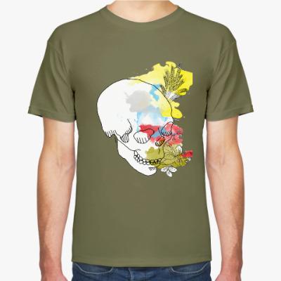 Футболка  Августовский череп