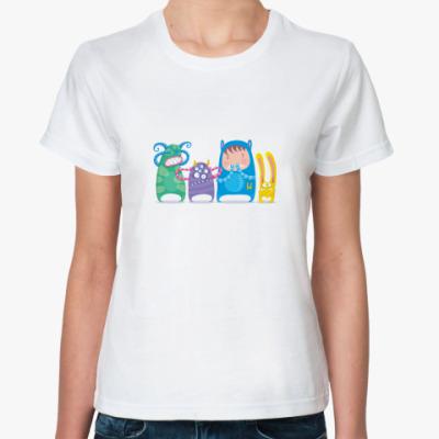 Классическая футболка No Evil