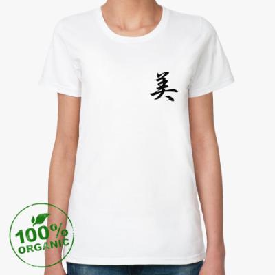 Женская футболка из органик-хлопка Фен-шуй
