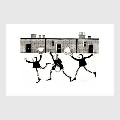 Постер Kettle run