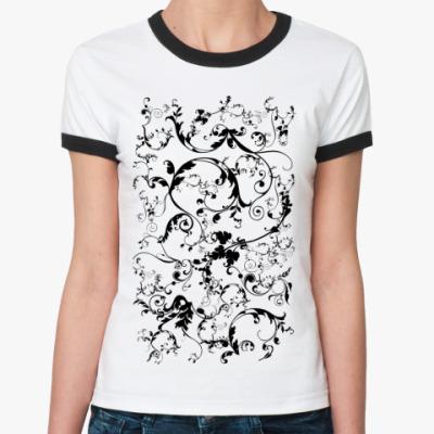 Женская футболка Ringer-T Свирл