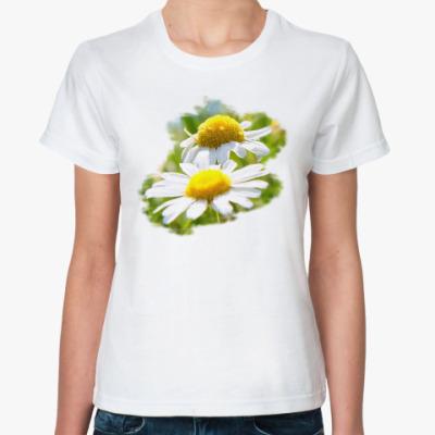 Классическая футболка чудо ромашки