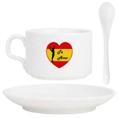 Кофейный набор Я люблю тебя по-испански