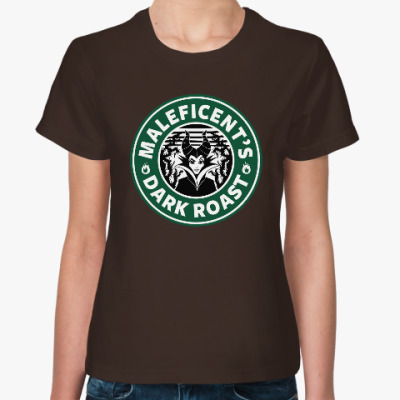Женская футболка Maleficents Dark Roast