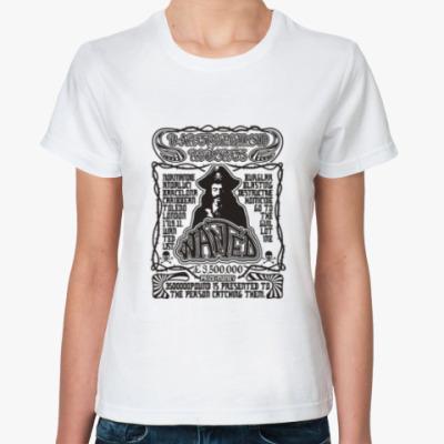 Классическая футболка Wanted