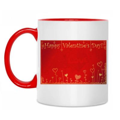 Кружка 'Valentine's Day'