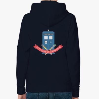 Женская толстовка худи TARDIS