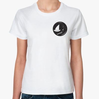 Классическая футболка Волшебнице: Эмблема