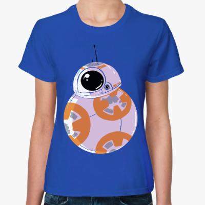Женская футболка Дроид BB-8 (Звездные Войны)