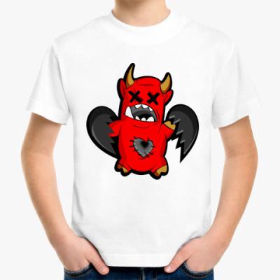 Детская футболка Дьяволёнок