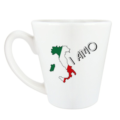 Чашка Латте Я люблю тебя по-итальянски