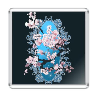 Магнит Цветущая сакура