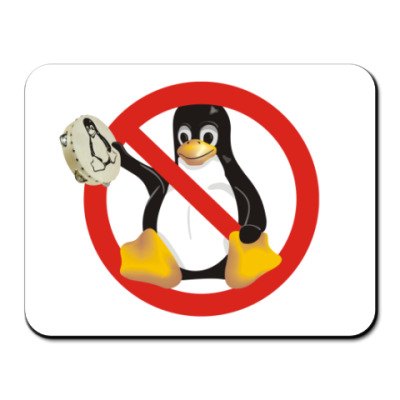 Коврик для мыши Stop Linux