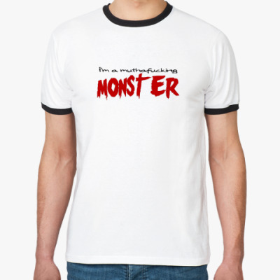 Футболка Ringer-T   Monster