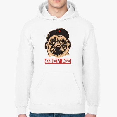 Толстовка худи Obey the doggy