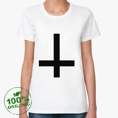 Женская футболка из органик-хлопка Cross