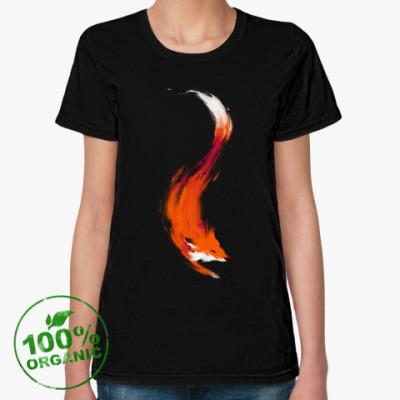 Женская футболка из органик-хлопка Лиса