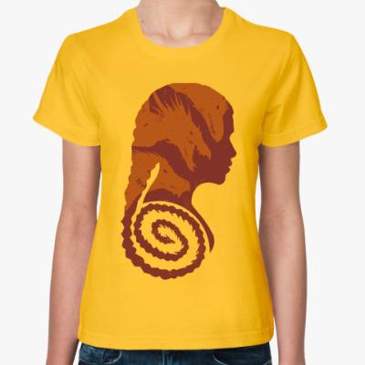 Женская футболка Драконы Кхалиси