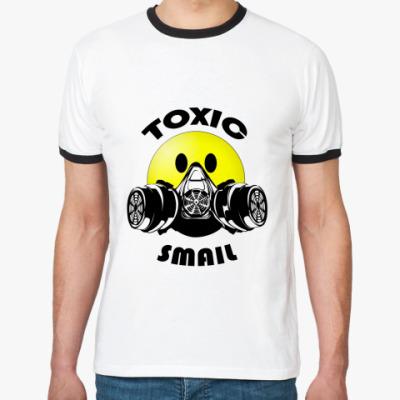 Футболка Ringer-T Toxic smail