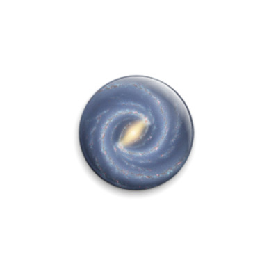 Значок 25мм 'Галактика'