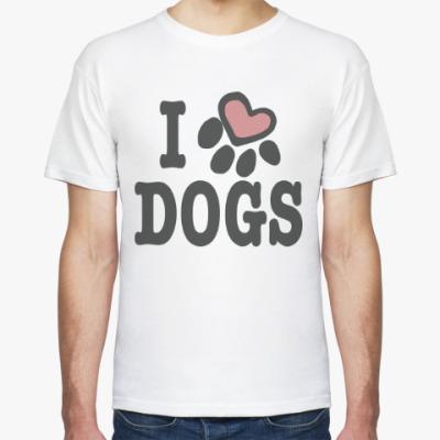 Футболка Люблю Собак