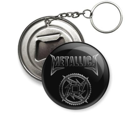 Брелок-открывашка Metallica