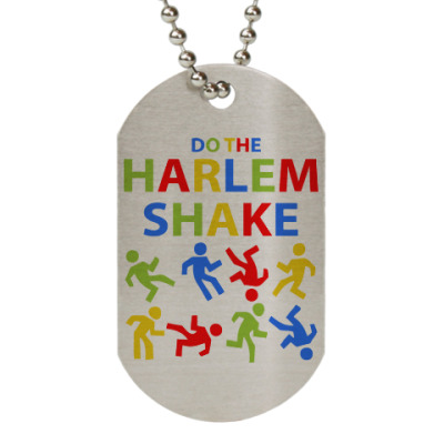 Жетон dog-tag Harlem Shake
