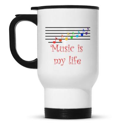 Кружка-термос Музыка