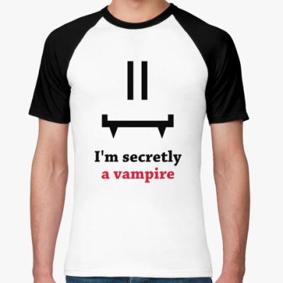 Футболка реглан Secret vampire