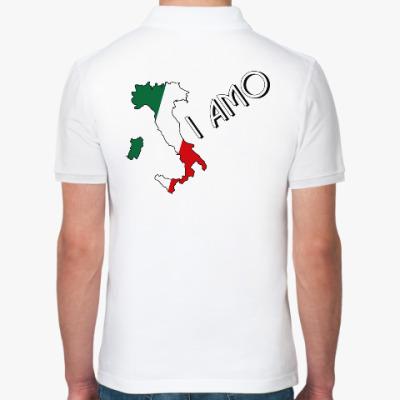 Рубашка поло Я люблю тебя по-итальянски