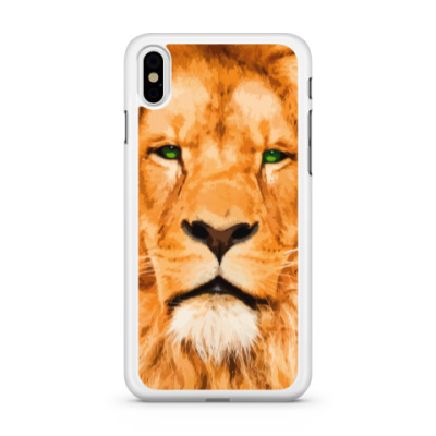 Чехол для iPhone Рыжий лев