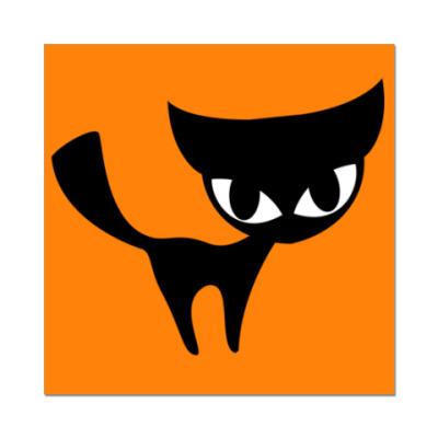 Наклейка (стикер)   Cat