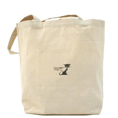 Сумка Холщовая сумка Котэ