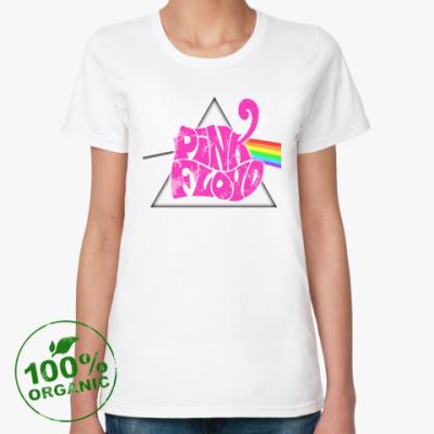 Женская футболка из органик-хлопка Pink Floyd
