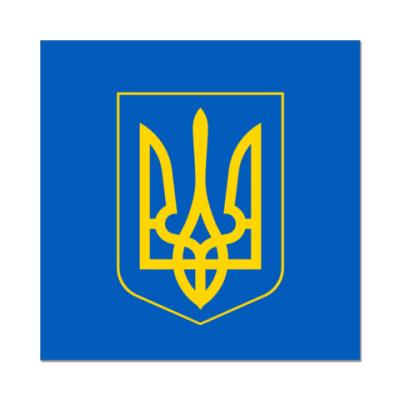 Наклейка (стикер)  Украина, Ukraine