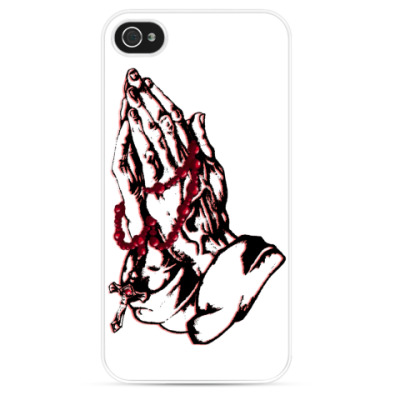 Чехол для iPhone Pray - Надейся и молись!