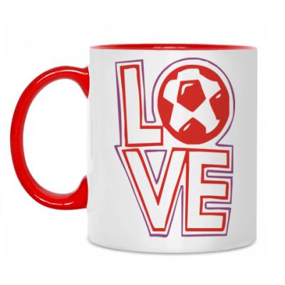 Кружка Люблю футбол