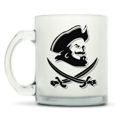 Кружка матовая Капитан Пират