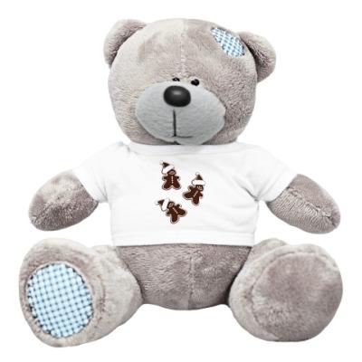 Плюшевый мишка Тедди Пряня